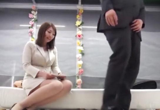 男性部下とセックスする竹内かすみ(マジックミラー号)